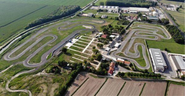 Circuito di Pomposa - vista aerea